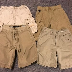 Bottoms - Boy's Lot of Khaki Shorts (Great for uniforms)